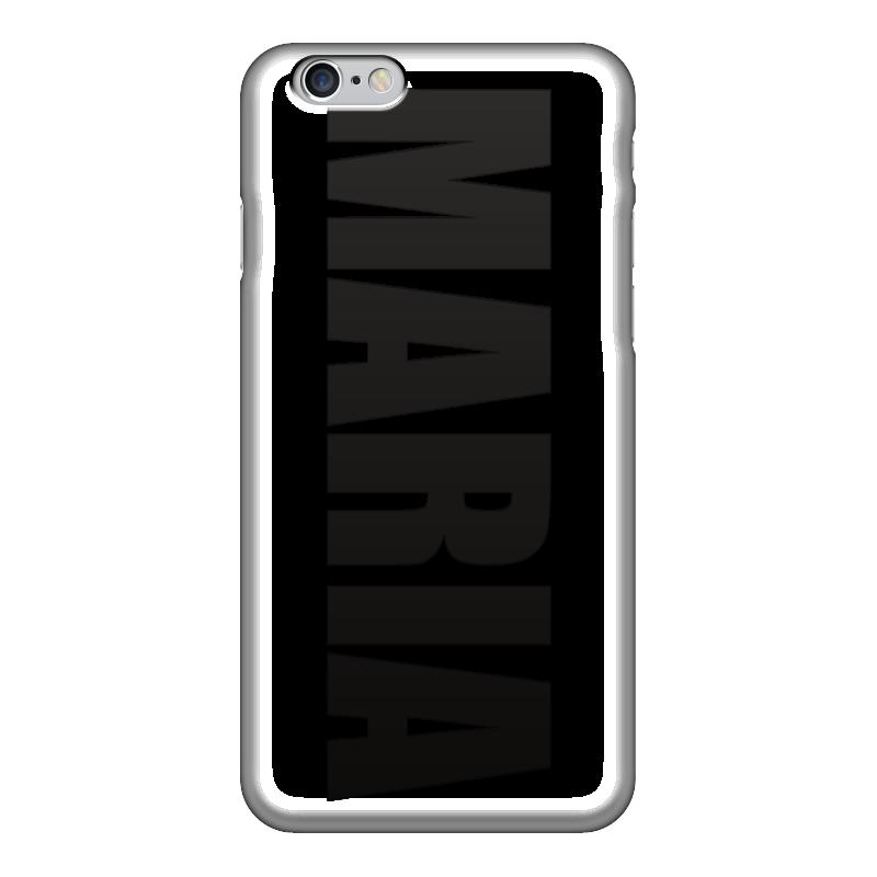 Чехол для iPhone 6 глянцевый Printio С именем мария чехол для iphone 5 глянцевый с полной запечаткой printio beardman case