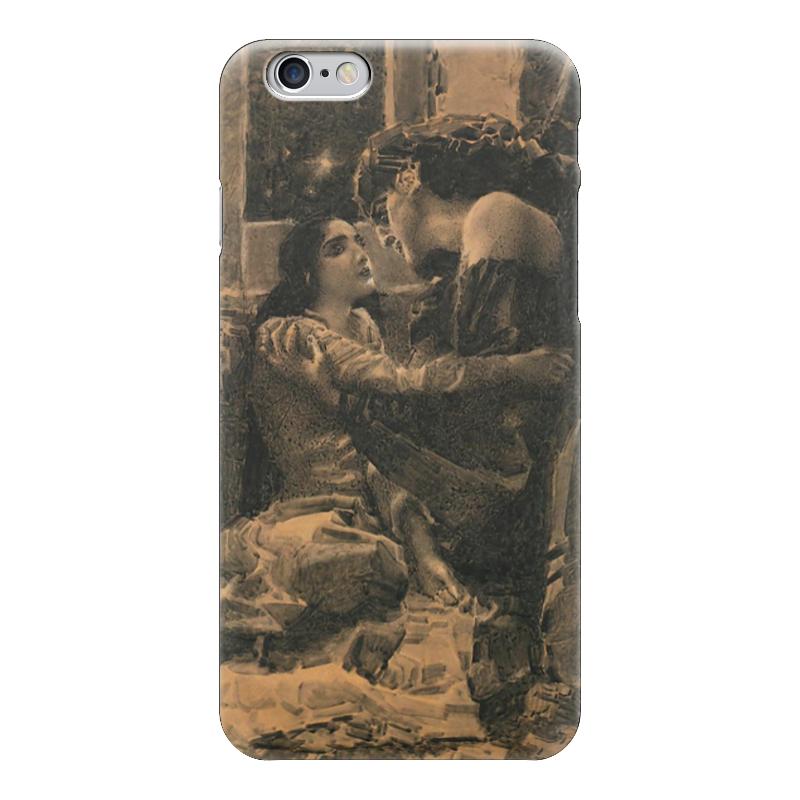 Чехол для iPhone 6 глянцевый Printio Демон и тамара подобен богу ретроспектива жизни м ю лермонтова
