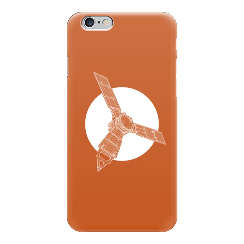 Чехол для iPhone 6 глянцевый Printio Juno mission printio чехол для iphone 5