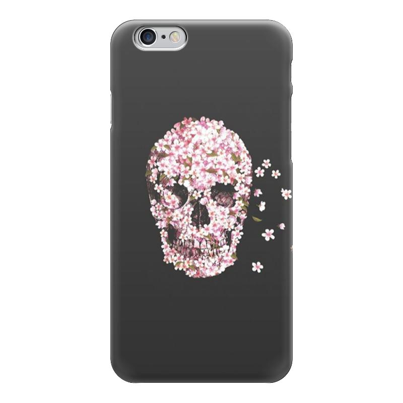 Чехол для iPhone 6 глянцевый Printio Милый череп