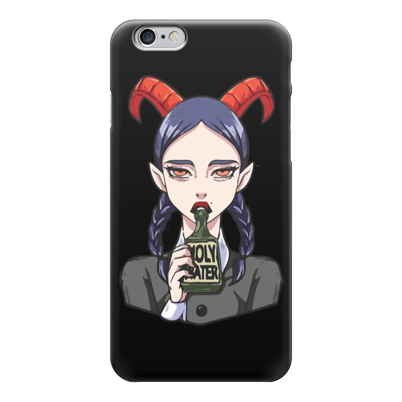 Чехол для iPhone 6 глянцевый Printio Devil girl чехол для iphone 6 глянцевый printio red girl