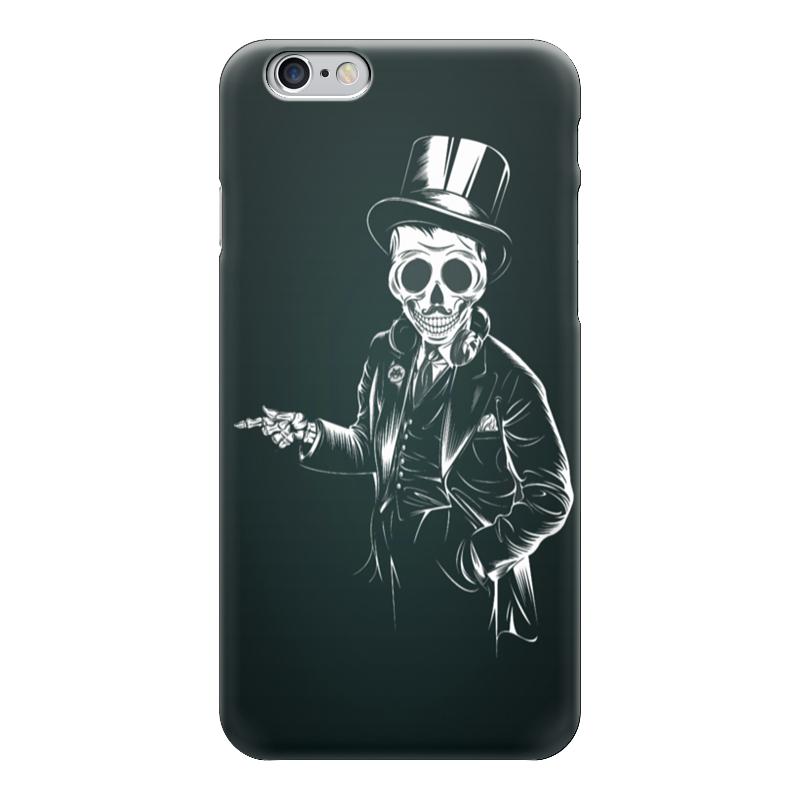 Чехол для iPhone 6 глянцевый Printio Олдскульный скелет чехол для iphone 6 глянцевый printio сад на улице корто сад на монмартре ренуар