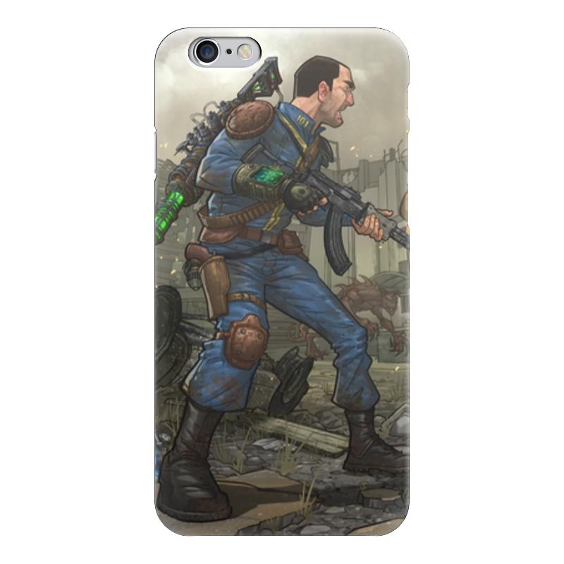 Чехол для iPhone 6 глянцевый Printio Fallout чехол для iphone 6 глянцевый printio fallout boy