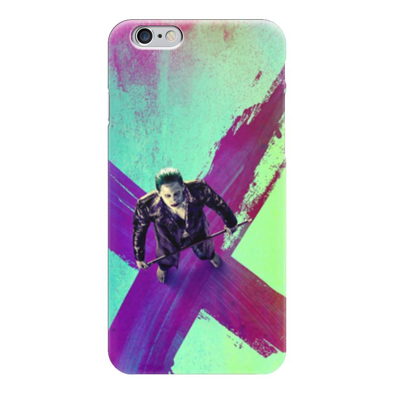Чехол для iPhone 6 глянцевый Printio Джокер (отряд самоубийц) чехол для iphone 7 глянцевый printio отряд самоубийц