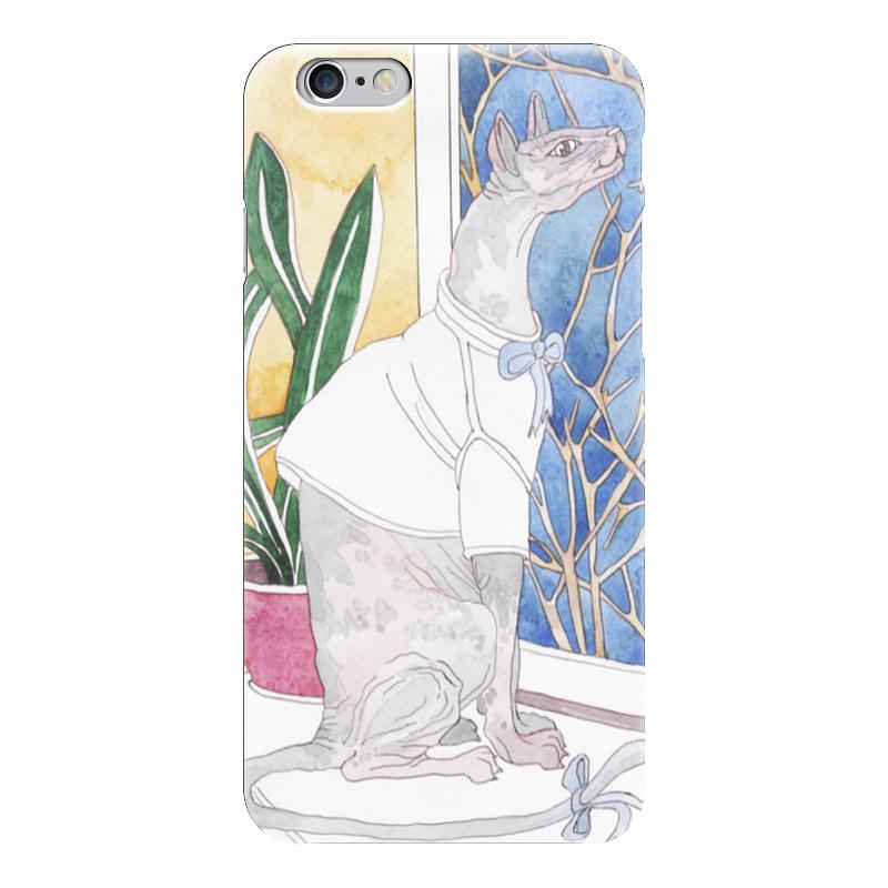 Чехол для iPhone 6 глянцевый Printio Сфинкс у окна металлопластиковые окна в одессе купить б у
