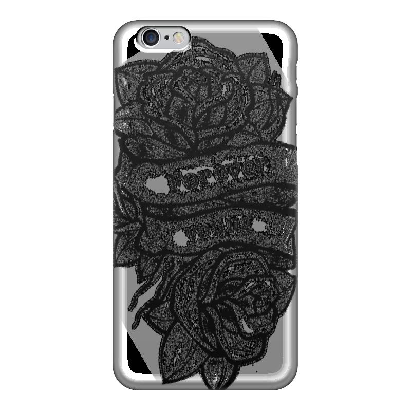 Чехол для iPhone 6 глянцевый Printio Forever young мицелий грибов груздь белый 60мл