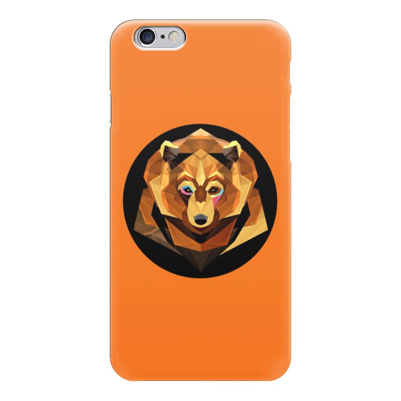 Чехол для iPhone 6 глянцевый Printio Бурый медведь тетрадь на скрепке printio бурый медведь