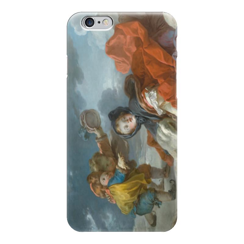 Чехол для iPhone 6 глянцевый Printio Зима (картина фрагонара) чехол для iphone 6 глянцевый printio дама в голубом картина сомова