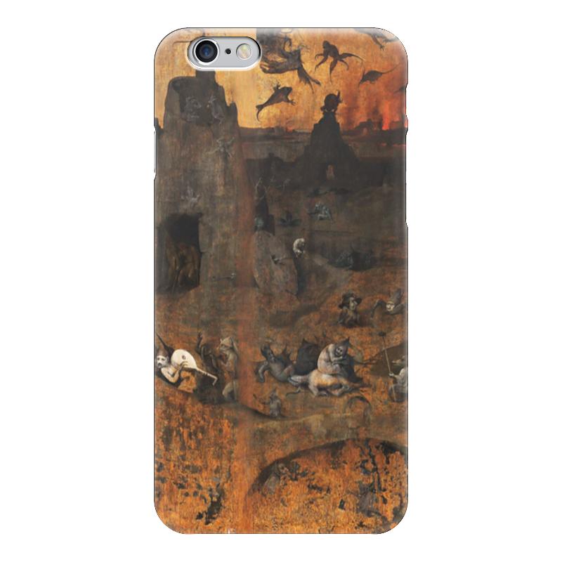 Чехол для iPhone 6 глянцевый Printio Ад (ад и потоп (створки алтаря иеронима босха))