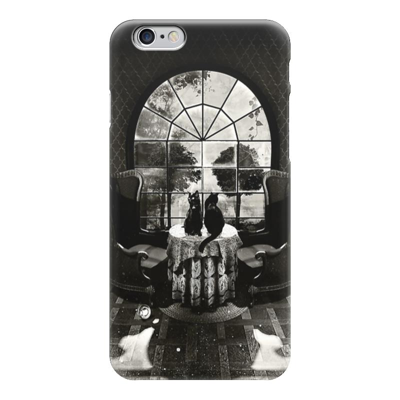 Чехол для iPhone 6 глянцевый Printio Skull house чехол для iphone 7 глянцевый printio skull art