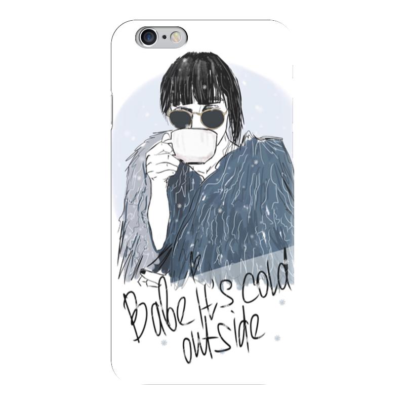 Чехол для iPhone 6 глянцевый Printio Babe it's cold outside чехол для iphone 6 глянцевый printio babe it s cold outside