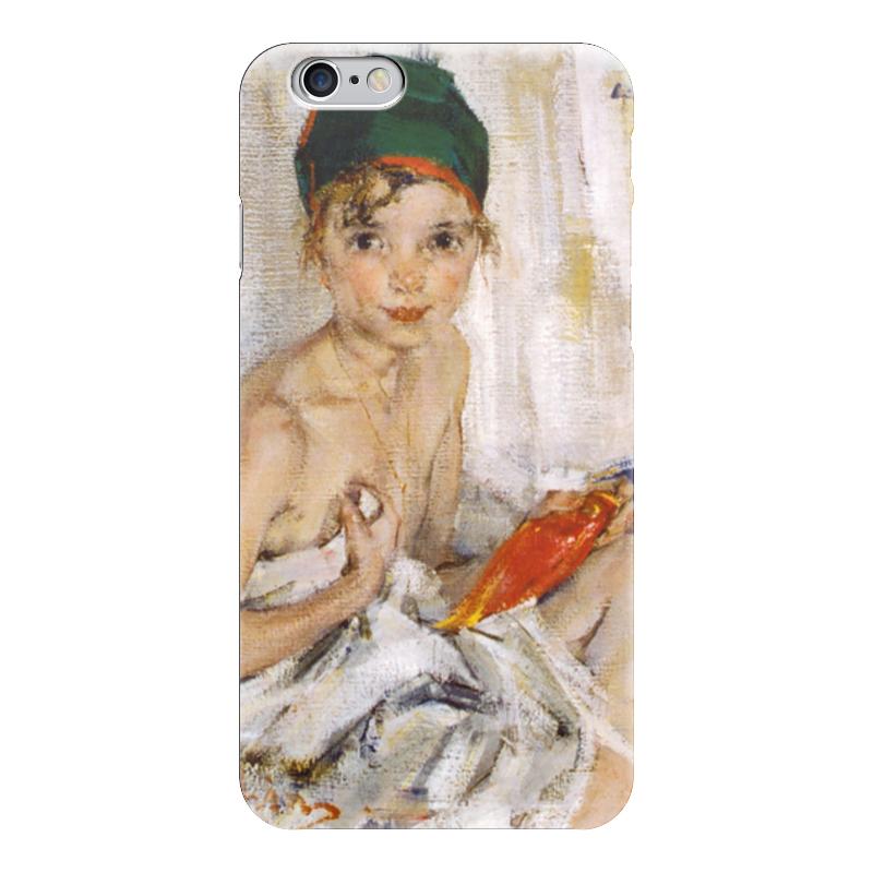 Чехол для iPhone 6 глянцевый Printio Портрет ии чехол для iphone 6 глянцевый printio портрет актрисы жанны самари ренуар