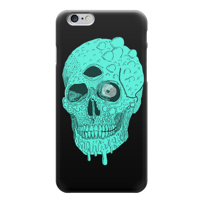 Чехол для iPhone 6 глянцевый Printio Skull art чехол для iphone 7 глянцевый printio skull art