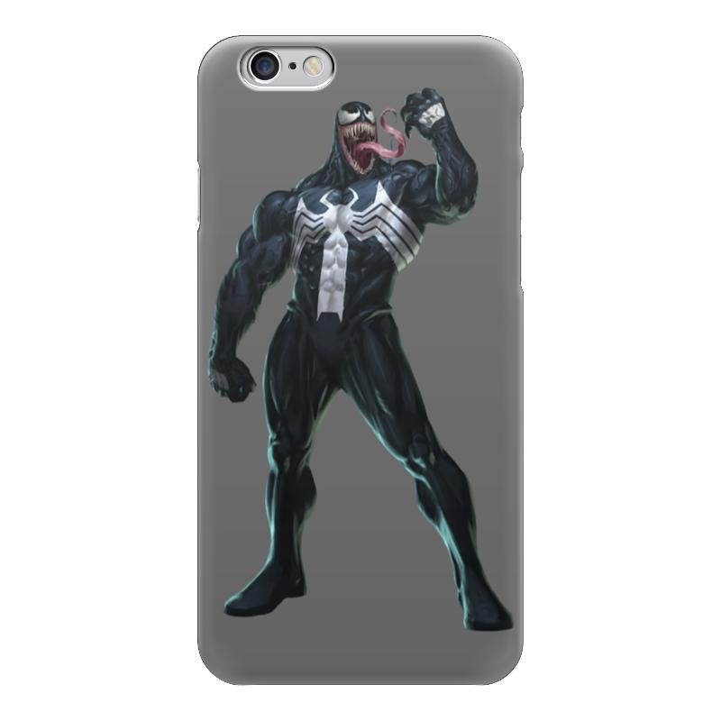 Чехол для iPhone 6 глянцевый Printio Venom / веном the venom of luxur
