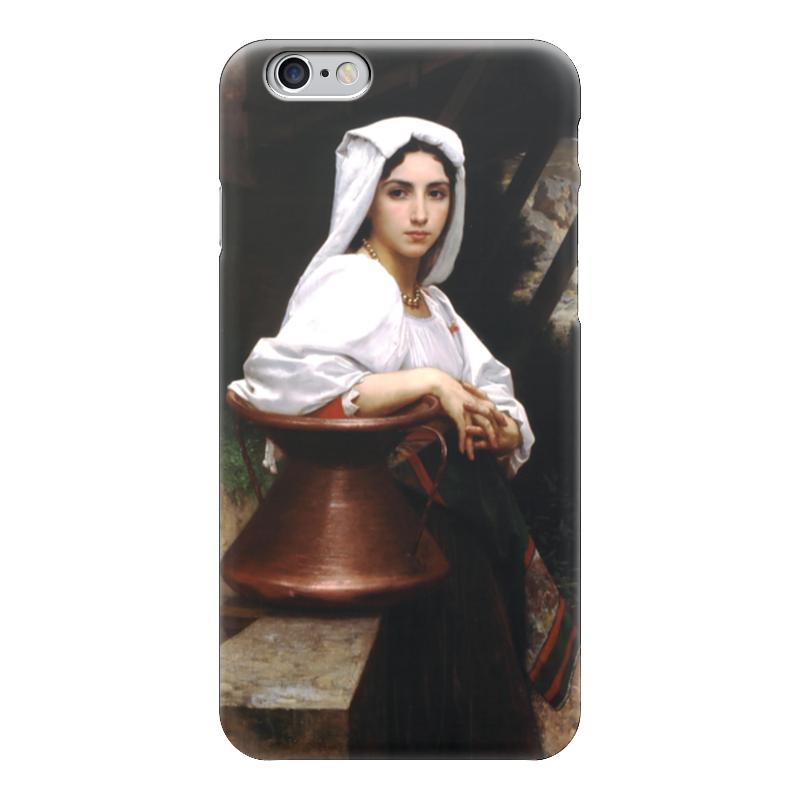 Чехол для iPhone 6 глянцевый Printio Молодая итальянка, набирающая воду чехол для iphone 6 глянцевый printio молодая женщина в соломенной шляпе
