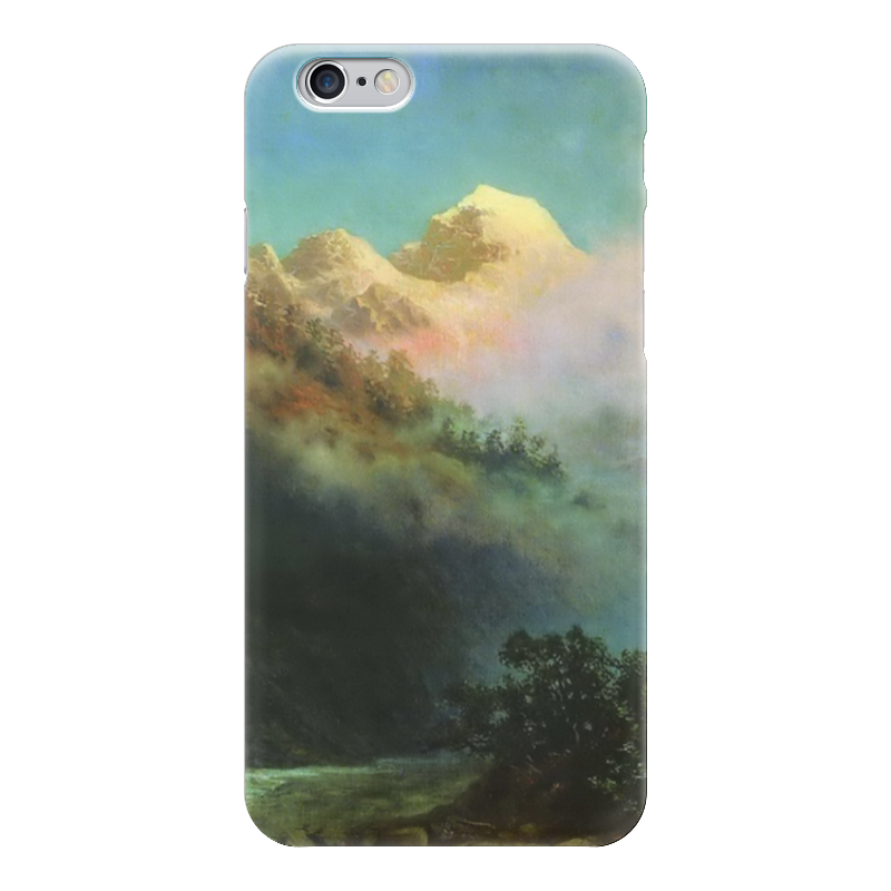 Чехол для iPhone 6 глянцевый Printio Восход солнца (картина архипа куинджи) восход солнца
