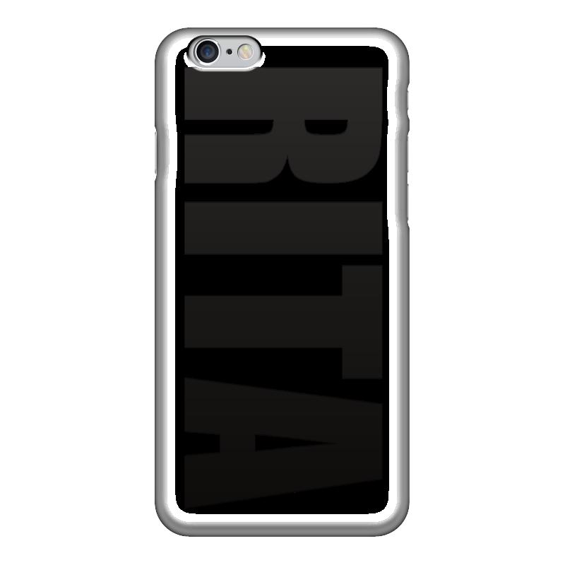 Чехол для iPhone 6 глянцевый Printio С именем рита чехол для iphone 5 printio с именем анна