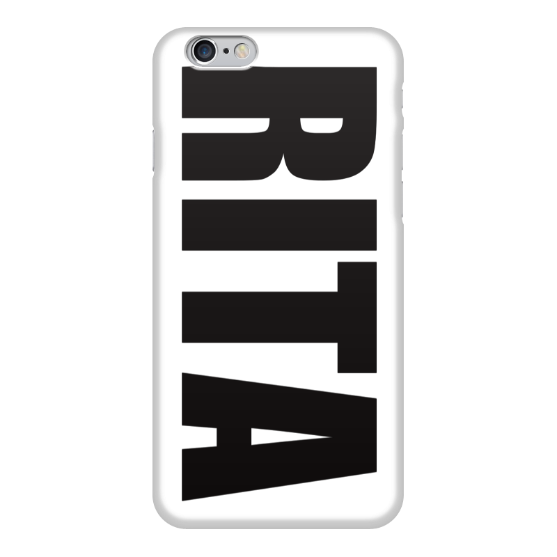 Чехол для iPhone 6 глянцевый Printio С именем рита чехол для iphone 5 глянцевый с полной запечаткой printio панк