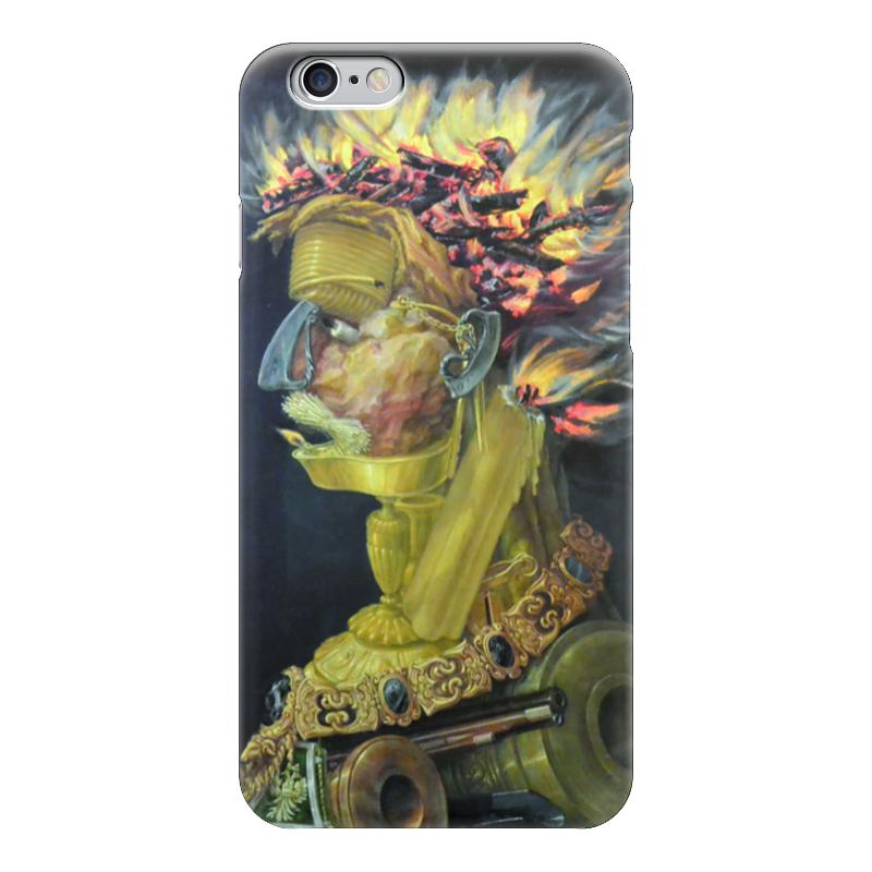 Чехол для iPhone 6 глянцевый Printio Огонь (джузеппе арчимбольдо) вернер кригескорте джузеппе арчимбольдо