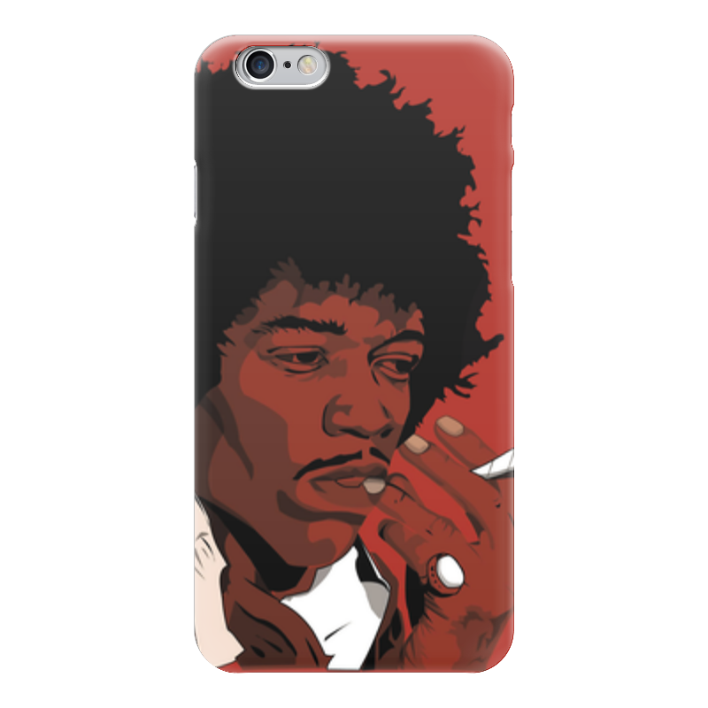 Чехол для iPhone 6 глянцевый Printio Джими хендрикс (jimi hendrix) джими хендрикс jimi hendrix the cry of love lp