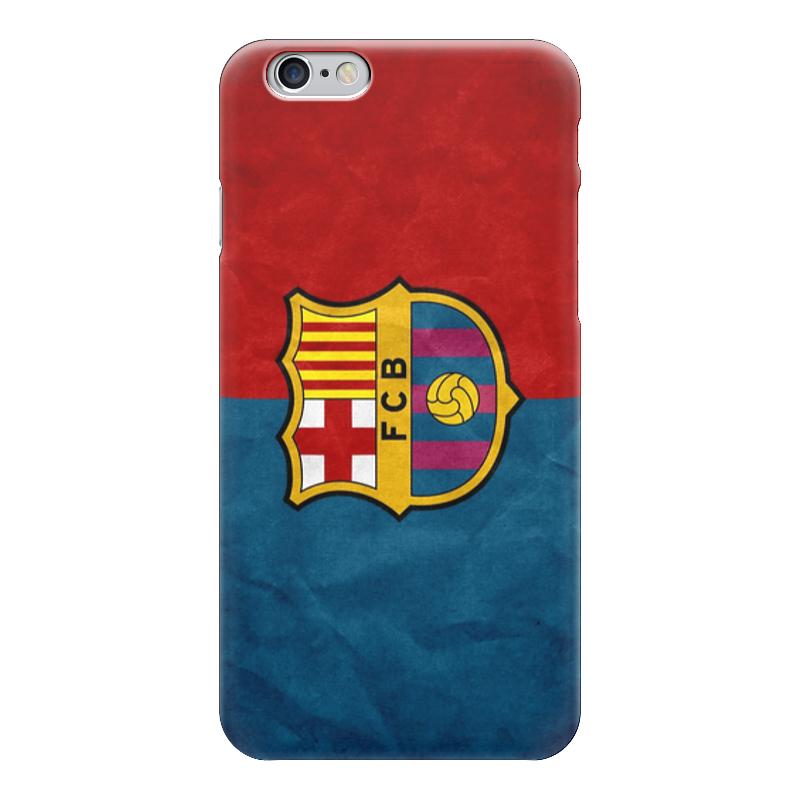 Чехол для iPhone 6 глянцевый Printio Барселона (барса)