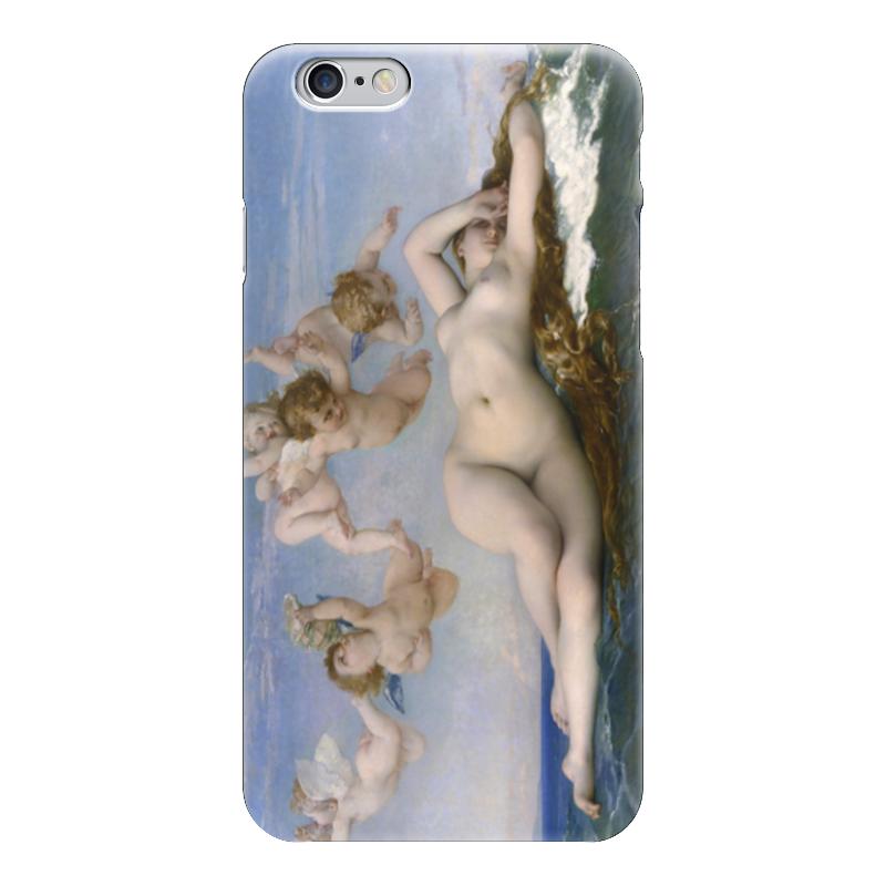 Чехол для iPhone 6 глянцевый Printio Рождение венеры (картина кабанеля) print bar рождение венеры