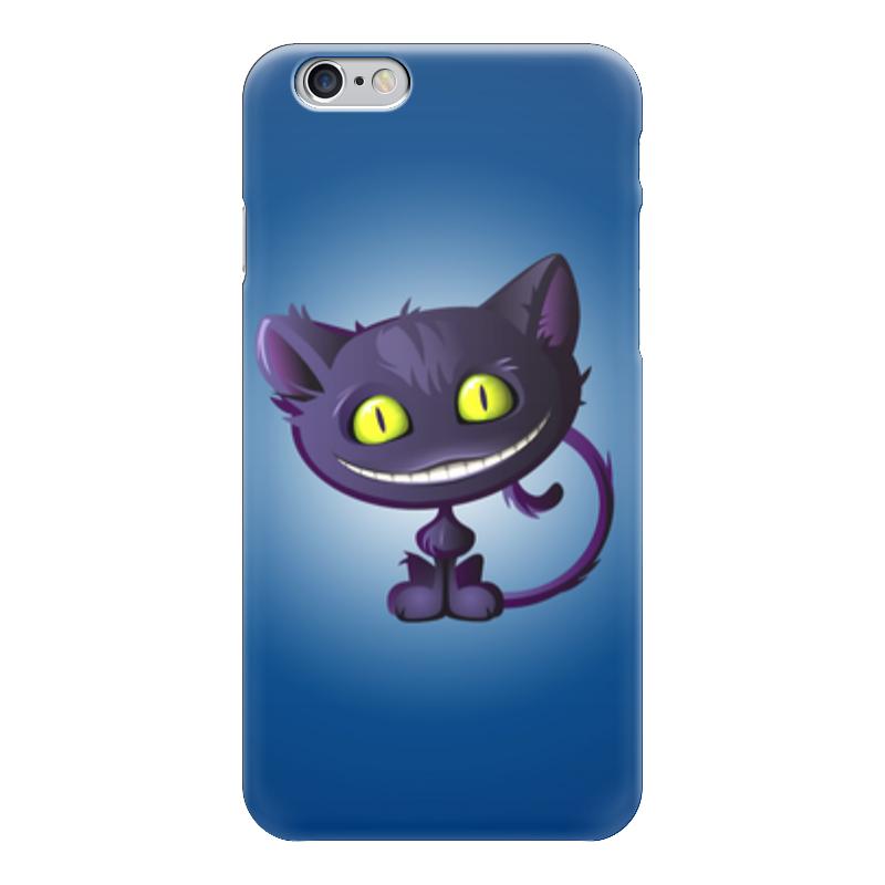 Чехол для iPhone 6 глянцевый Printio Чеширский кот плюшевая маска чеширский кот uni