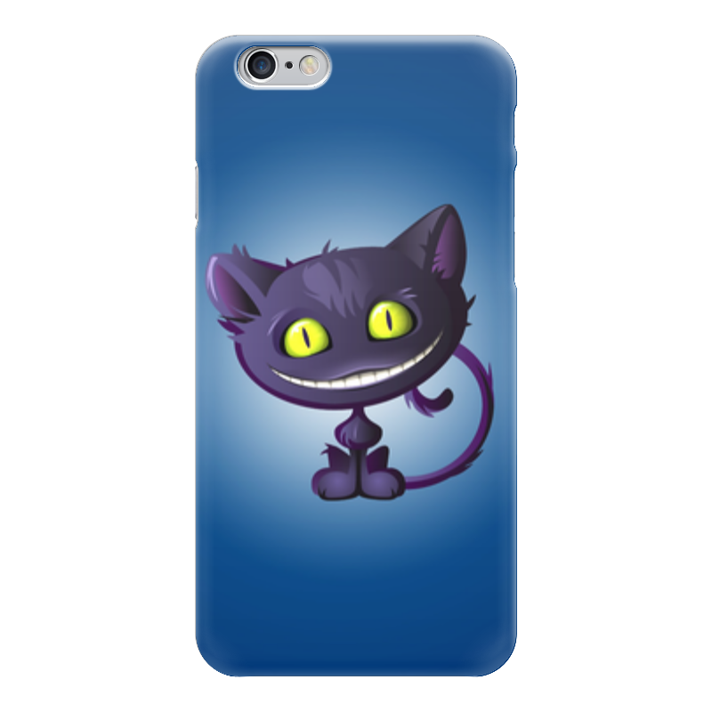 Чехол для iPhone 6 глянцевый Printio Чеширский кот чехол для iphone 6 глянцевый printio кот бу