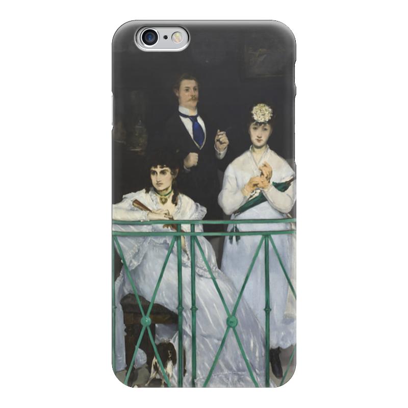 Чехол для iPhone 6 глянцевый Printio Балкон (картина мане)