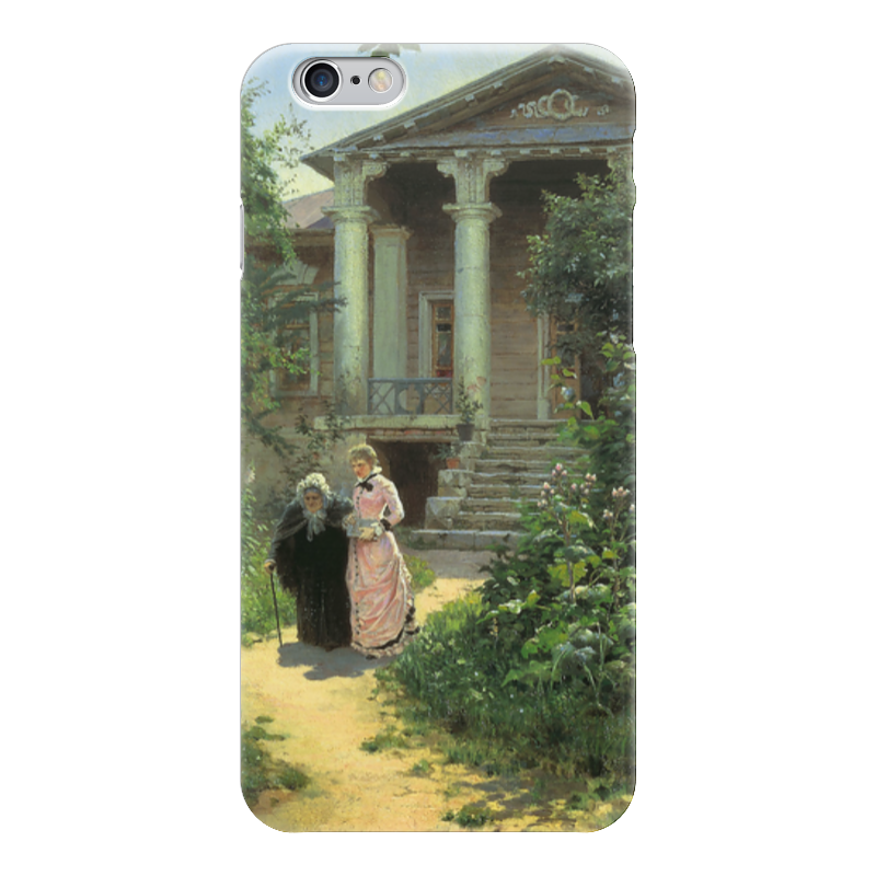 Чехол для iPhone 6 глянцевый Printio Бабушкин сад чехол для iphone 6 глянцевый printio летний сад