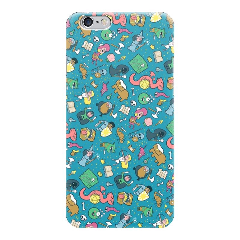 Чехол для iPhone 6 глянцевый Printio Dungeons & patterns чехол для iphone 6 глянцевый printio бабушкин сад