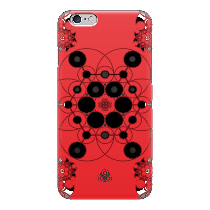 Чехол для iPhone 6 глянцевый Printio Молекула духа дешево духи молекула