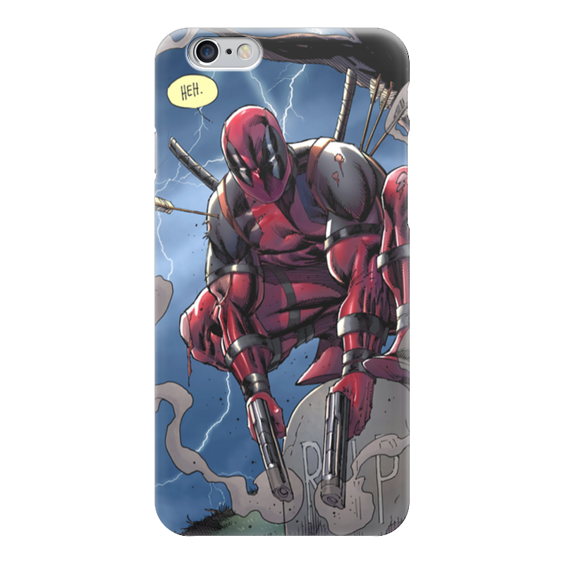 Чехол для iPhone 6 глянцевый Printio Дэдпул (deadpool) чехол для iphone 6 глянцевый printio deadpool дэдпул