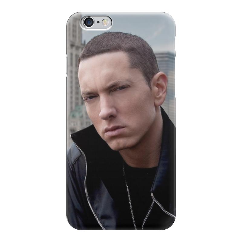 Чехол для iPhone 6 глянцевый Printio Eminem