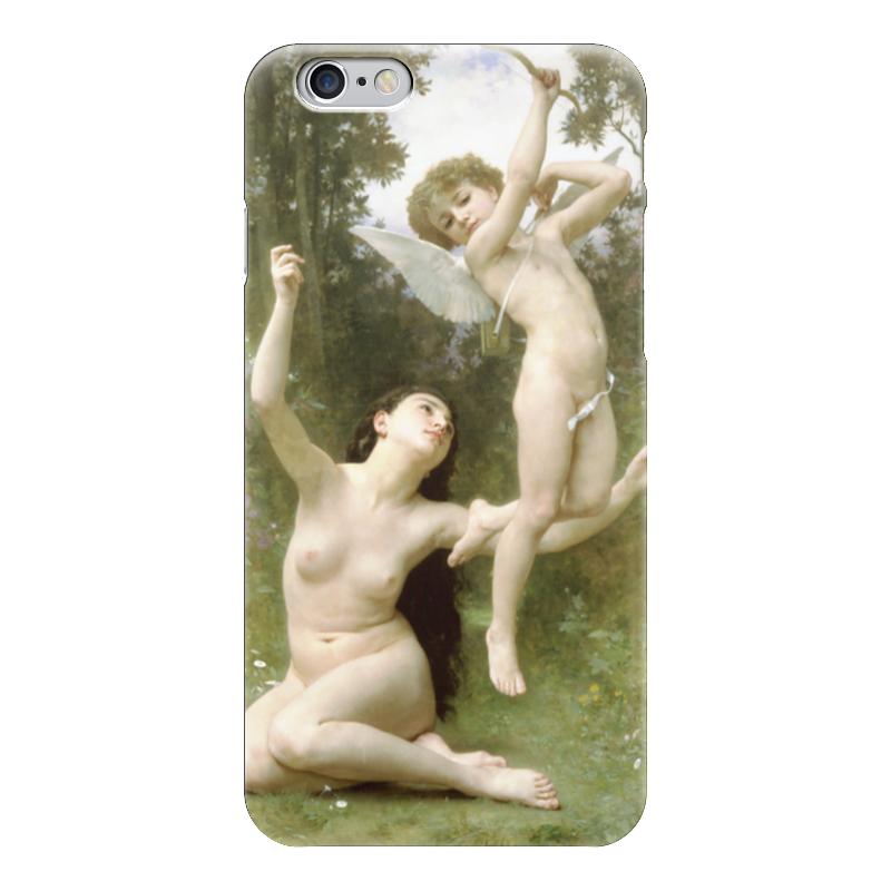 Чехол для iPhone 6 глянцевый Printio Полёт любви (вильям бугро) чехол для iphone 6 глянцевый printio купальщица вильям бугро