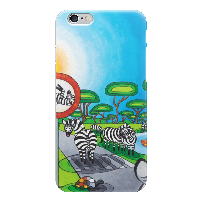Чехол для iPhone 6 глянцевый Printio Lollypups #9 (the zebra) чехол для iphone 6 глянцевый printio lollypups 17 the dreamer