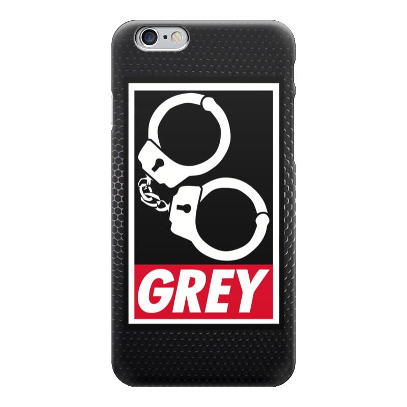 Чехол для iPhone 6 глянцевый Printio 50 оттенков серого (fifty shades of grey) майка классическая printio 50 оттенков серого fifty shades of grey