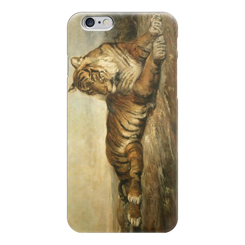 Чехол для iPhone 6 глянцевый Printio Тигр (рамон марти-и-альсина)