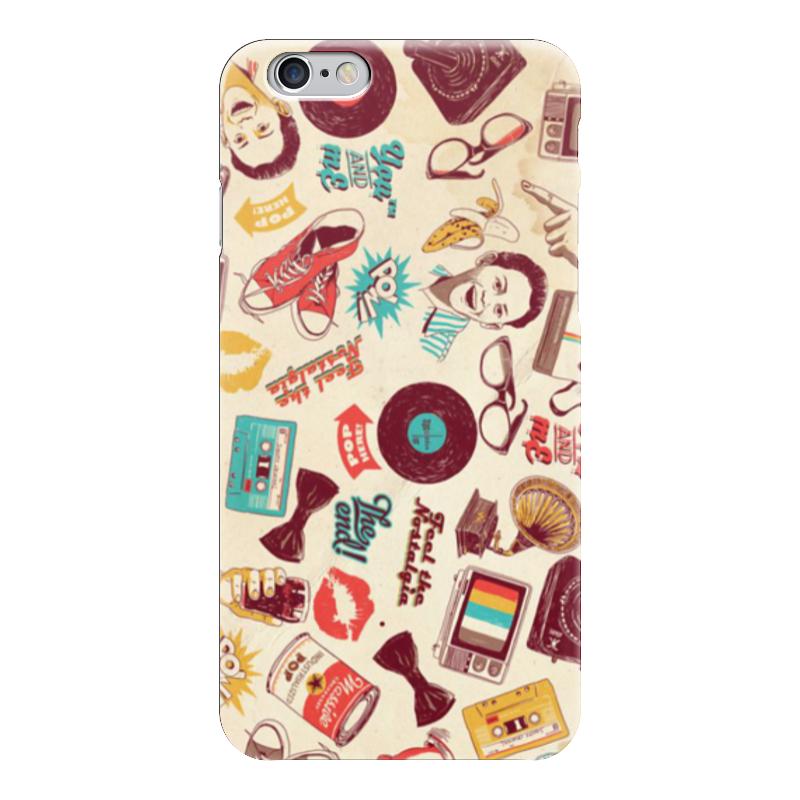 Чехол для iPhone 6 глянцевый Printio Ретро чехол для iphone 6 глянцевый printio модная деваха