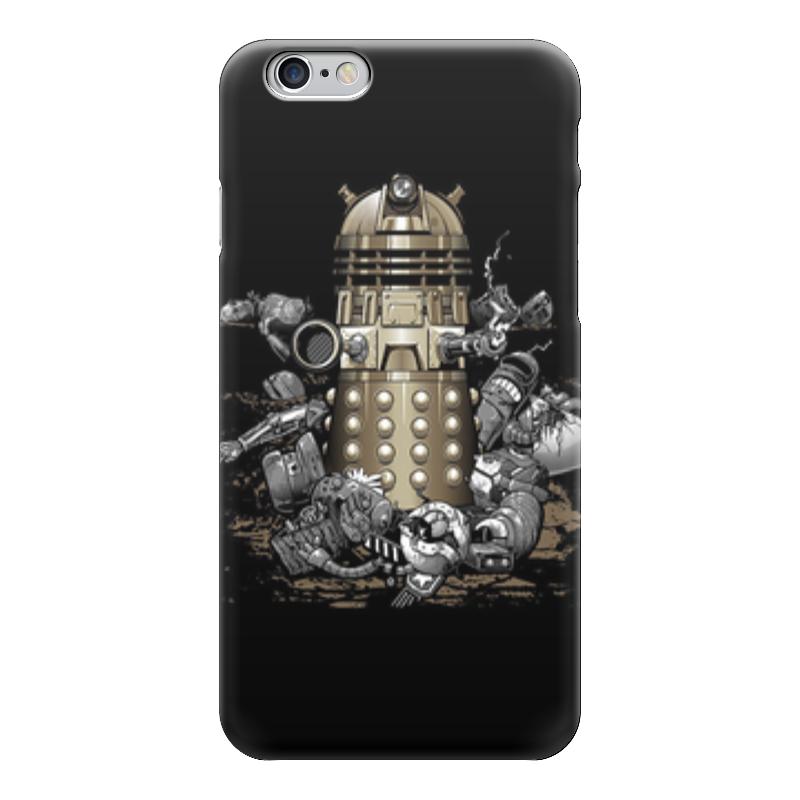 Чехол для iPhone 6 глянцевый Printio Далеки (доктор кто) чехол для iphone 7 глянцевый printio time lord doctor who