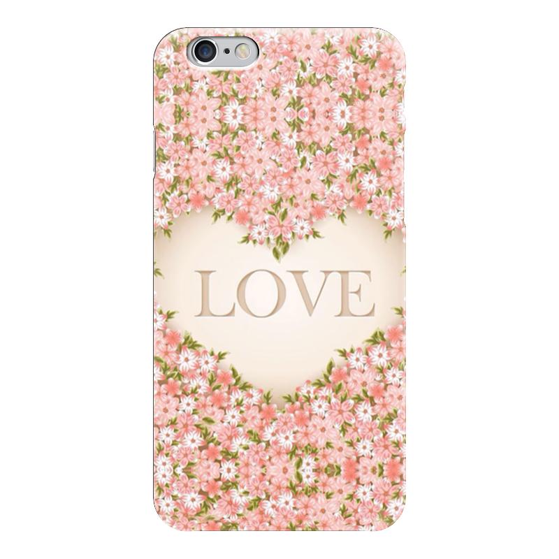 Чехол для iPhone 6 глянцевый Printio Love чехол для iphone 5 глянцевый с полной запечаткой printio love