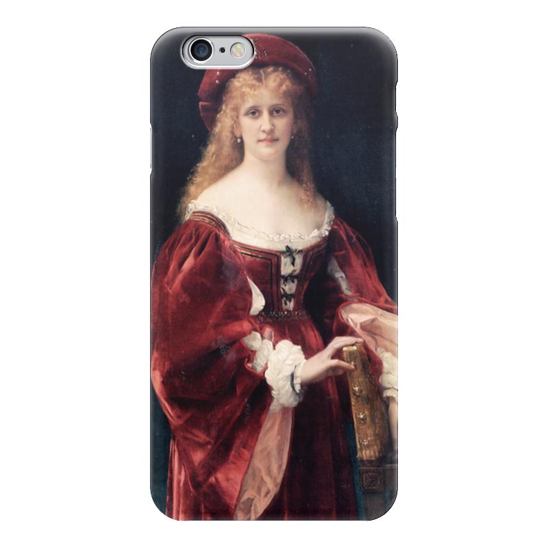Чехол для iPhone 6 глянцевый Printio Портрет аристократки из венеции чехол для iphone 6 глянцевый printio портрет актрисы жанны самари ренуар