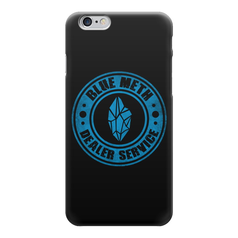 Чехол для iPhone 6 глянцевый Printio Blue meth (breaking bad) боксмод sigelei fuchai 213w tc blue силик чехол