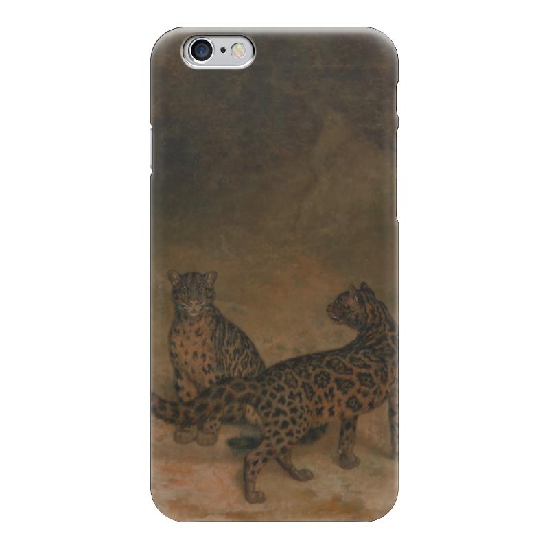 Чехол для iPhone 6 глянцевый Printio Дымчатый леопард (жак-лоран агас) жак рейн в россии