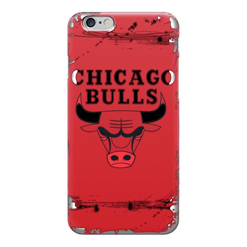 Чехол для iPhone 6 глянцевый Printio Chicago bulls чехол