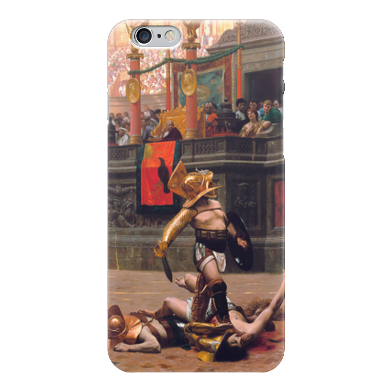 где купить Чехол для iPhone 6 глянцевый Printio Pollice verso (жан-леон жером) по лучшей цене