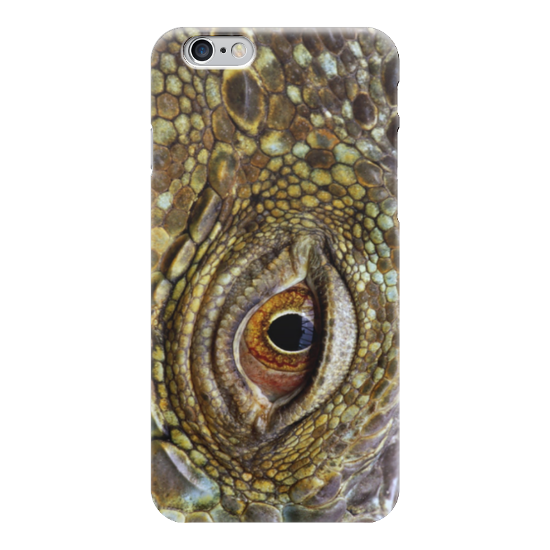 Чехол для iPhone 6 глянцевый Printio Крокодиловая кожа с секретом