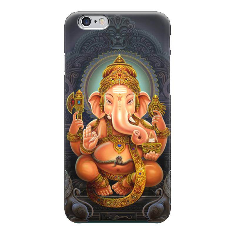 Чехол для iPhone 6 глянцевый Printio Ganesha чехол