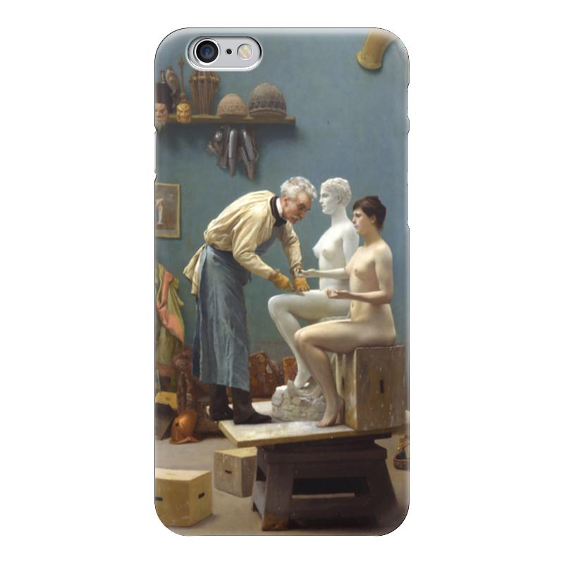 Чехол для iPhone 6 глянцевый Printio Модель скульптора (жан-леон жером) обложка для паспорта printio жан рено леон