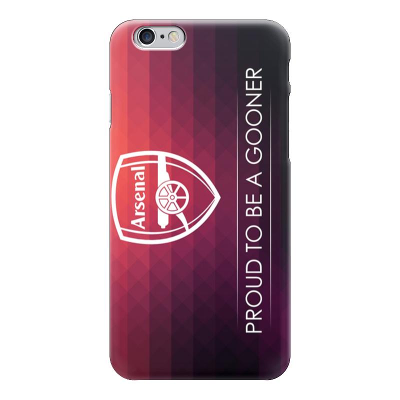 Чехол для iPhone 6 глянцевый Printio Арсенал (arsenal) каталог премьер клуб oriflame